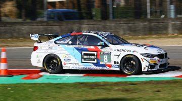 BMW M4 GT4 Koen Bogaerts Kart Clinic