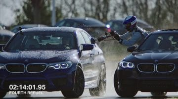 BMW Pakt record langste drift