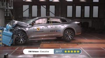 De veiligste auto's van 2017 volgens Euro NCAP