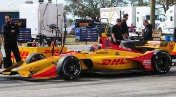IndyCar Sebring Test