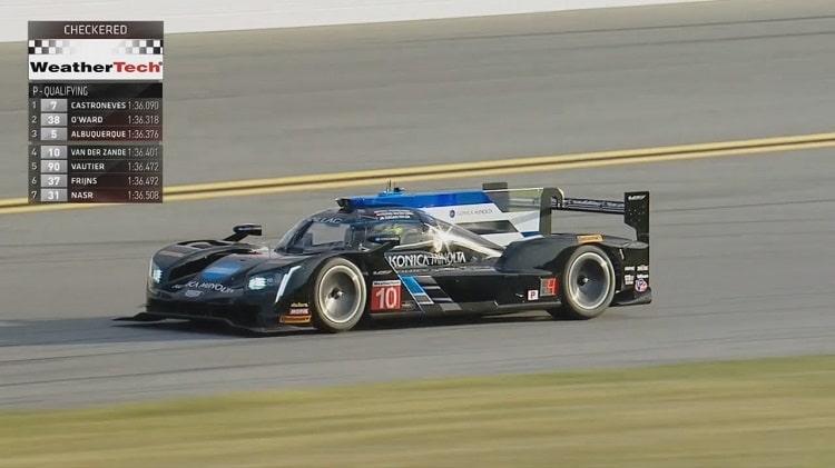 Renger van der Zande Pole Daytona