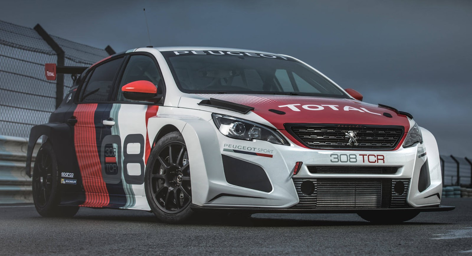 video peugeot presenteert 308tcr voor wtcr. Black Bedroom Furniture Sets. Home Design Ideas