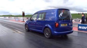 snelste Volkswagen Caddy ter wereld