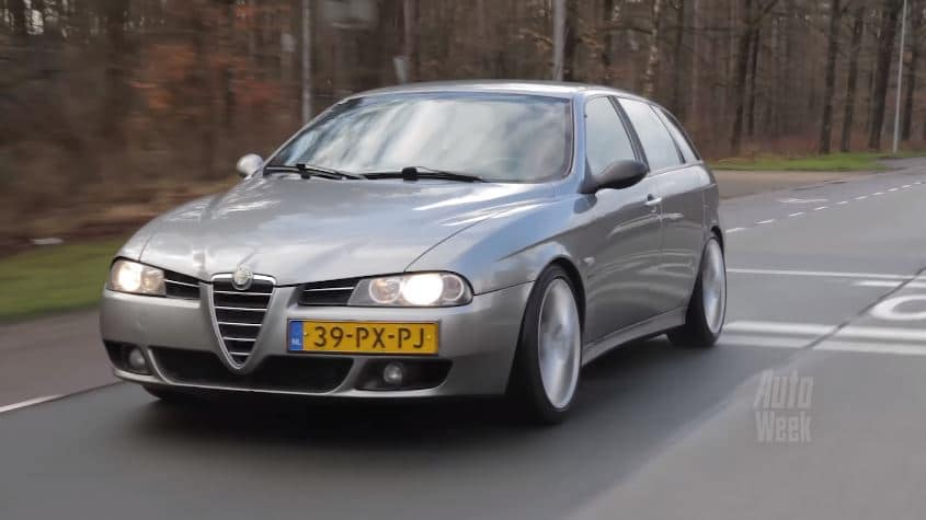 video deze alfa romeo 156 reed al km. Black Bedroom Furniture Sets. Home Design Ideas