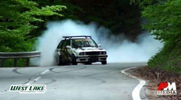 BMW E30 Touring Drift