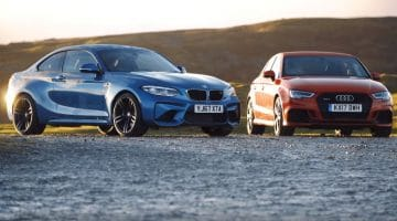 BMW M2 vs Audi RS3