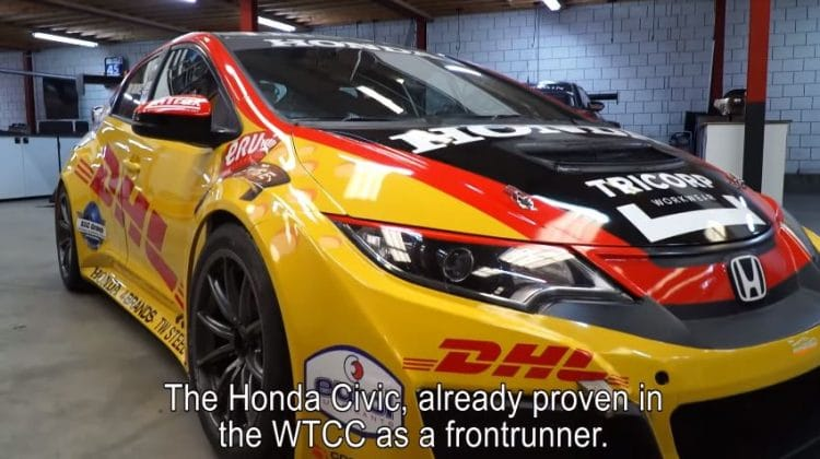 Tom Coronel Honda Civic WTCR