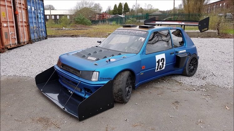 Twin Engined Peugeot 205 GTI