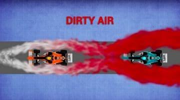 Verschil tussen vuile lucht en slipstreamen