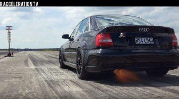 Audi S4 B5 0-300 kmh