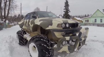 BMW 750i Monster Truck