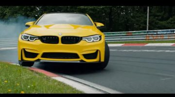 BMW M4 CS op de Ring