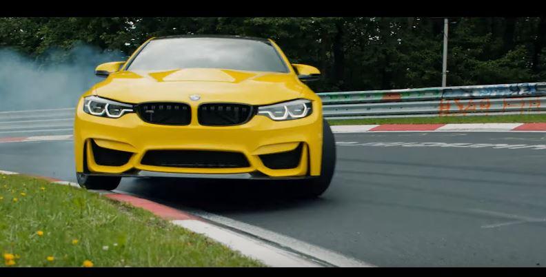 BMW M4 CS op de Ring
