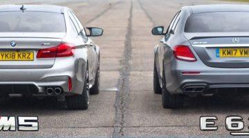 BMW M5 vs Mercedes-AMG E63 S