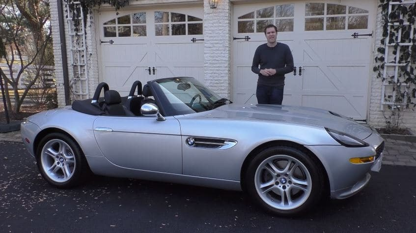Bmw Z8 Review Top Gear Black Stig Tests The Alpina Z8