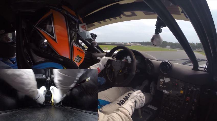 Heel and Toe in McLaren F1 GTR