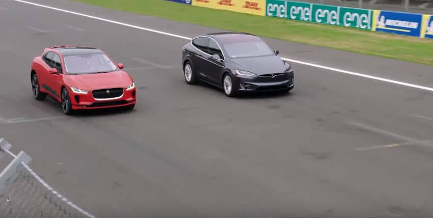 Jaguar I-Pace vs Tesla Model X 100D