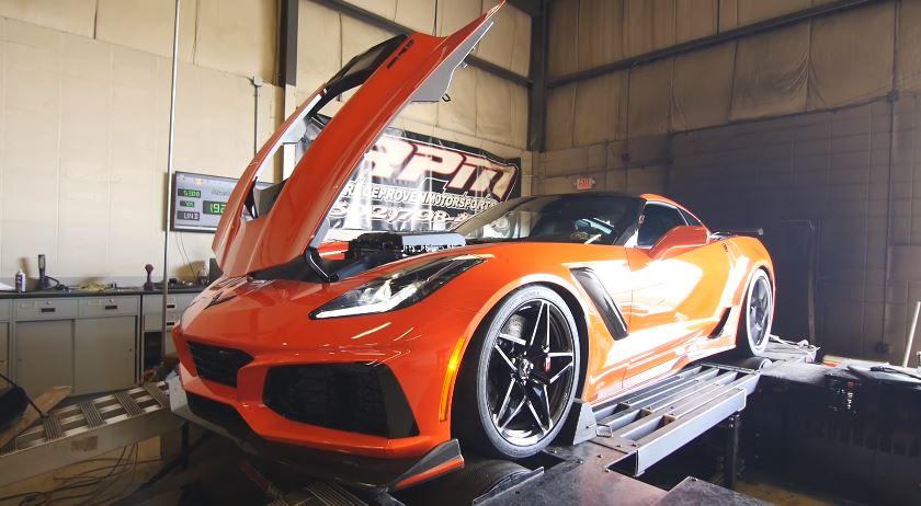 Corvette ZR1 Rollenbank