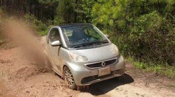 Elektrische Smart off road