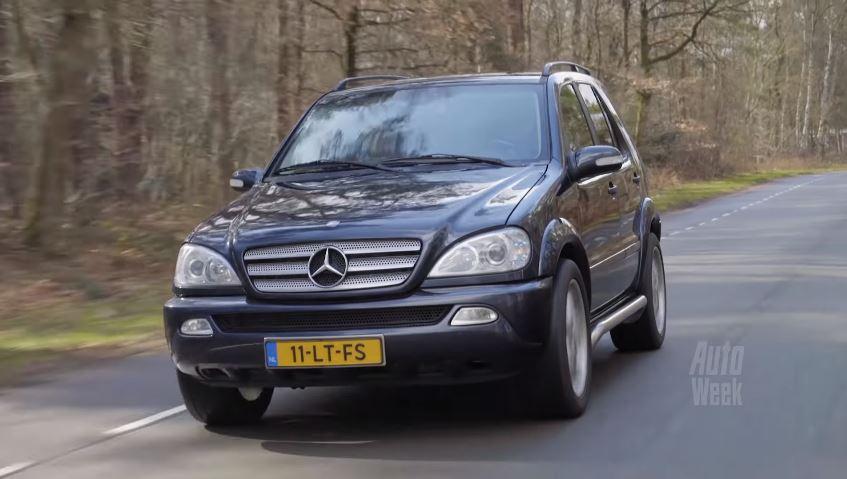 Mercedes-Benz ML350 met bijna half miljoen kilometer