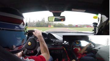 Onboard Ferrari 488 Pista