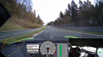 Porsche 991.2 GT3 RS Nordschleife Lap