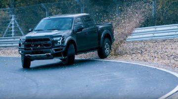 aughn Gittin Jr. Drifts Nordschleife in Ford Raptor