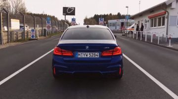 BMW F90 M5 Nordschleife Lap