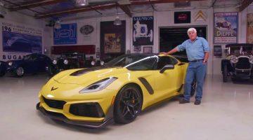 Jay Leno's Garage - Corvette C7 ZR1