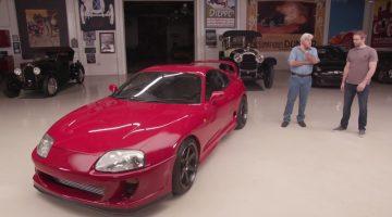 Jay Leno's Garage Toyota Supra
