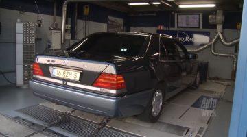 Op de Rollenbank - Mercedes-Benz 500 SEL