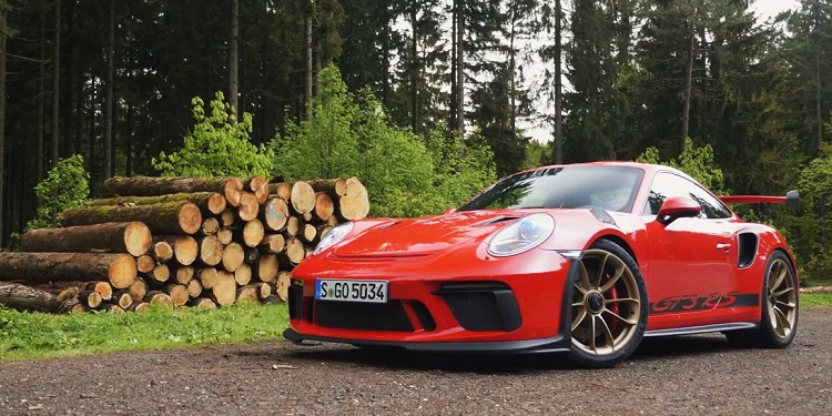 Porsche 911 GT3 RS Sudschleife