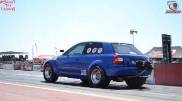snelste Audi S3 ter wereld op de kwart mijl