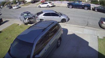 15-jarige crasht Volkswagen, claimt dat hij aangereden werd