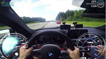 BMW F90 M5 Top Speed