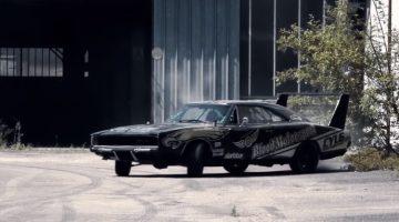 Dodge Charger drift oude fabriek