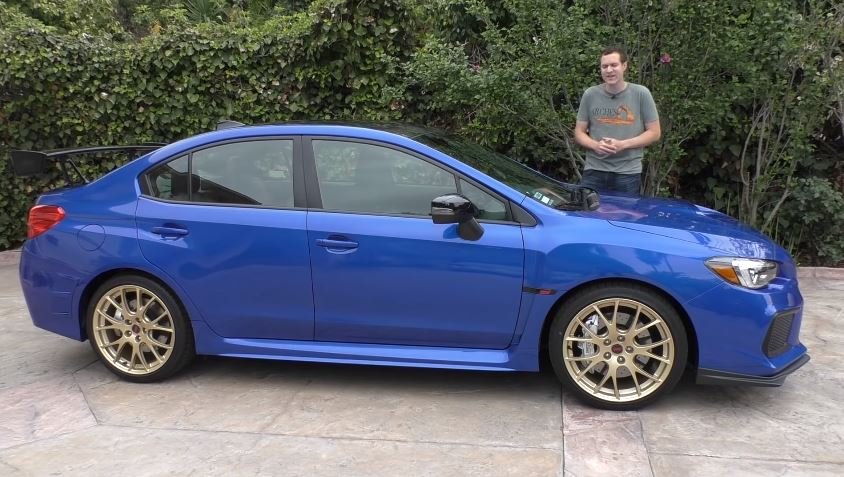 Doug DeMuro Subaru WRX STI Type RA