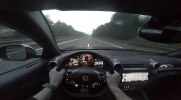 Ferrari GTC4Lusso naar 335 kmh