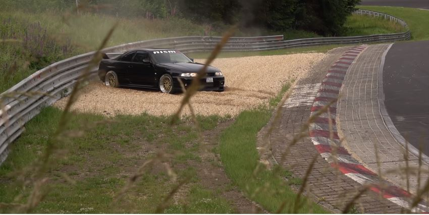 Nissan R33 GT-R Spin Nordschleife