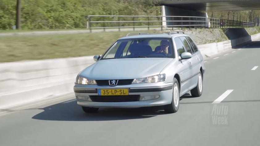 Peugeot 406 1.8 16V Break met een half miljoen kilometer