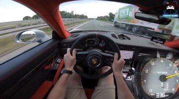 Porsche 911 GT2 RS topsnelheid Autobahn