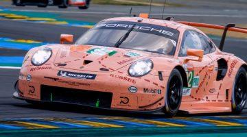 Porsche 911 RSR is zeer luidruchtig op Le Mans