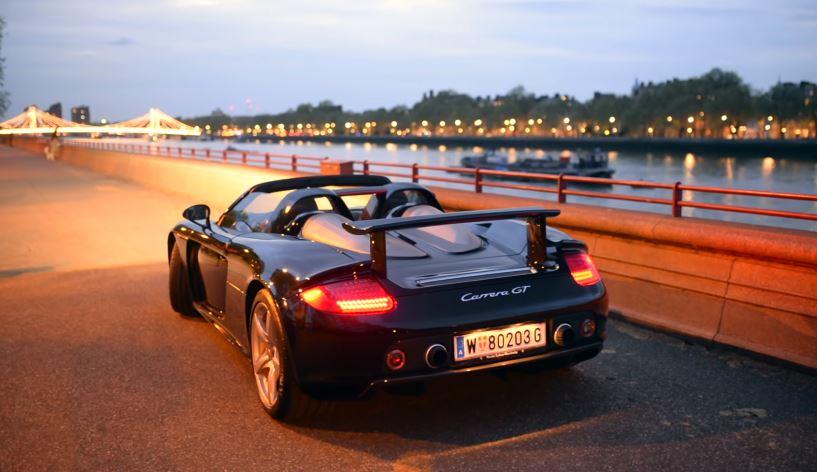 Porsche Carrera GT in Londen