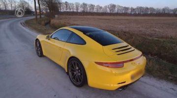 Porsche-bestuurder raakt rijbewijs kwijt