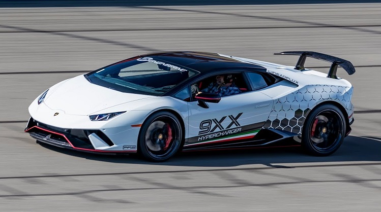 Supercharged Lamborghini Huracan Performante