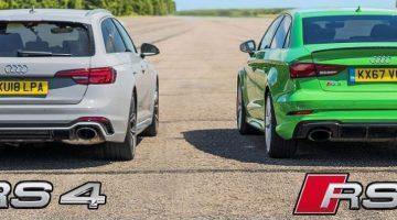 Audi RS3 vs RS4