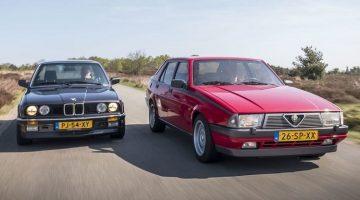 Alfa Romeo 75 V6 vs BMW E30 325i