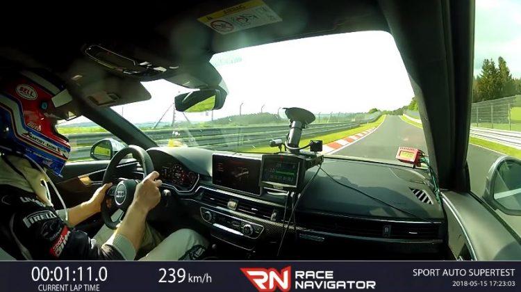 Audi RS4 Avant Nordschleife Lap