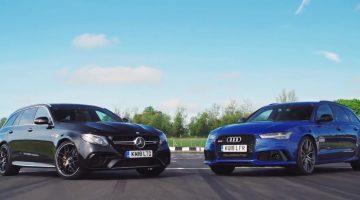 Audi RS6 vs Mercedes-AMG E63 S