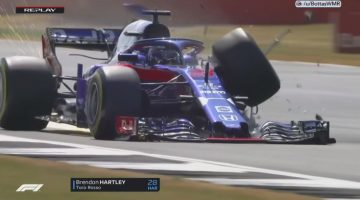 Brendon Hartley Crash